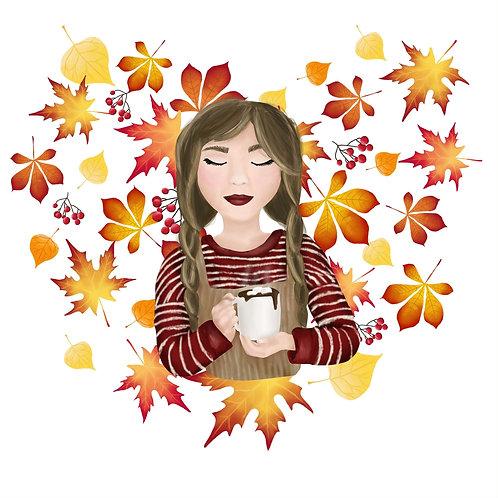 Cosy Autumn Print