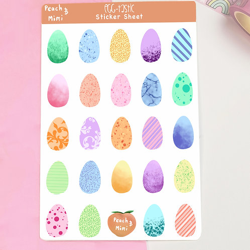 Egg-tastic Stickers