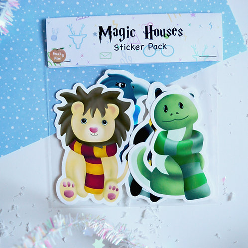 Magic Houses Sticker Pack