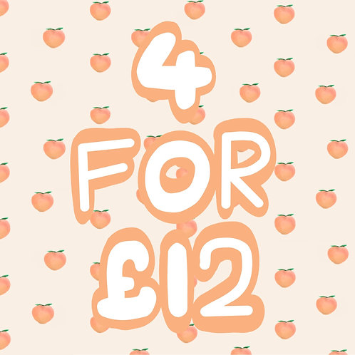A5 Cards -  4 for £12