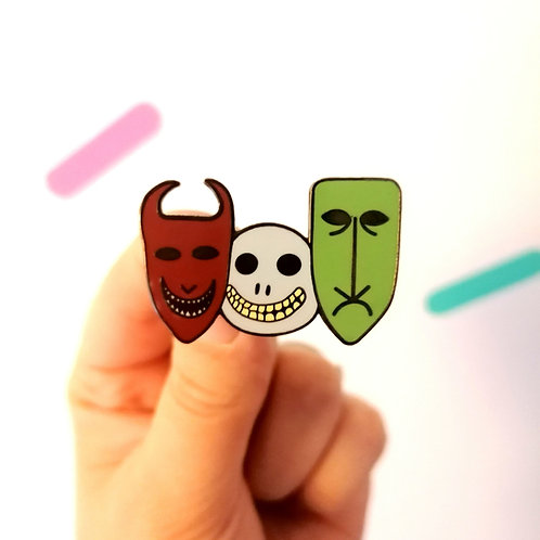 Trick or Treat Enamel Pin