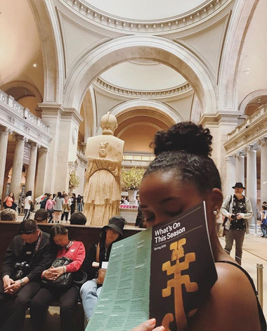 At the Met with Nia <3