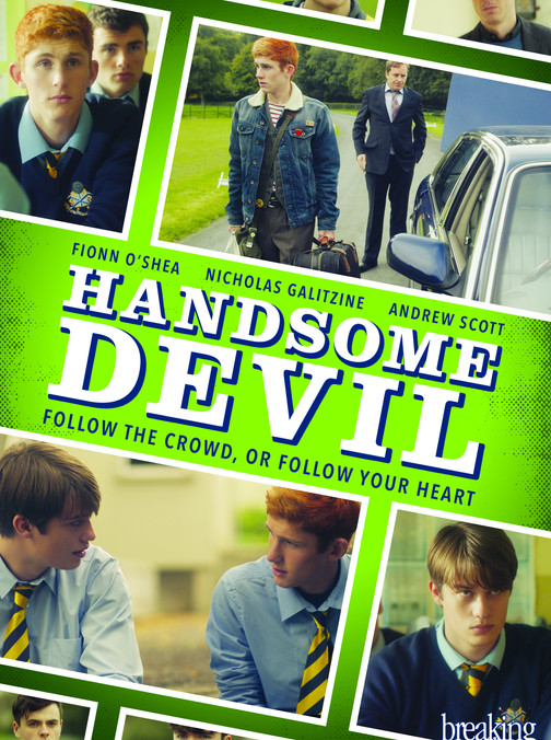 """(9/10) This was truly a surprising find. I've learned to trust IMDB and their ratings so when I saw this movie had a good rating, I finally decided to watch it. I had seen it several times while scrolling through Netflix. It was an Irish film. Great story. I was very impressed by the writing. Although it was shot it a very teen, coming of age way-split screens, pauses and voice overs, those elements did not detract from its quality. Also it was more of a story of self discovery and acceptance rather than a love story. But what took this film over the top was definitely Andrew Scott. He played the English teacher and I recognized him as the villain Jim Moriarty from BBC's Sherlock! OMG he was and is incredible. Every line he delivered he turned from good to great. He was sort of closeted and had some amazing moments, every moment he was on screen was amazing but he had several over the top extraordinary moments where he shined spectacularly. One of my favorite lines from the movie was """"reveal to them who you are...if you dare"""" also """"do not speak in a borrowed voice!"""" also """"It gets better. Trust me it does"""" there was so much pain and emotion in Scott's eyes as he said that omg. The main two boys were amazing as well. Fionn O'Shea and Nicholas Galitzine. I really really enjoyed this film. The ending had my heart racing. Such an incredible, incredible story. I wonder if it was adapted from a book. Also the coach, Moe Dunford, as a sort of antagonist/realist gave a great performance. So did the main bully, Ruairi O'Connor. Great comedy too!"""