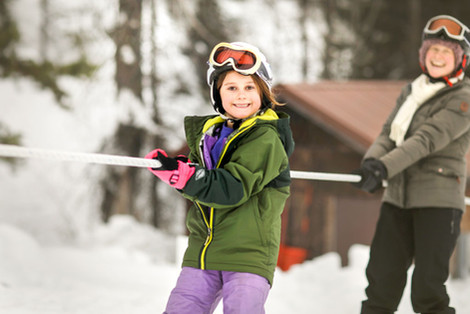 Learning To Ski At Sussex School