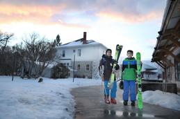 Students Go Skiing