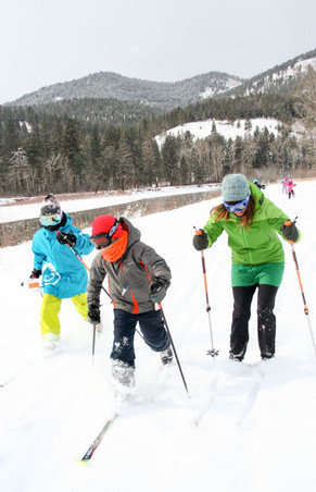 Sussex Students Go Skiing