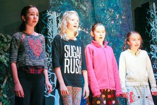Sussex School students