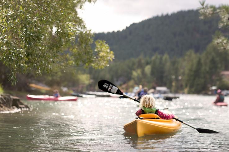 Kayaking in Kindergarten