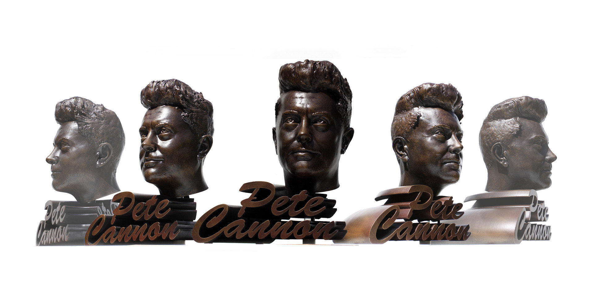 Pete Cannon bust