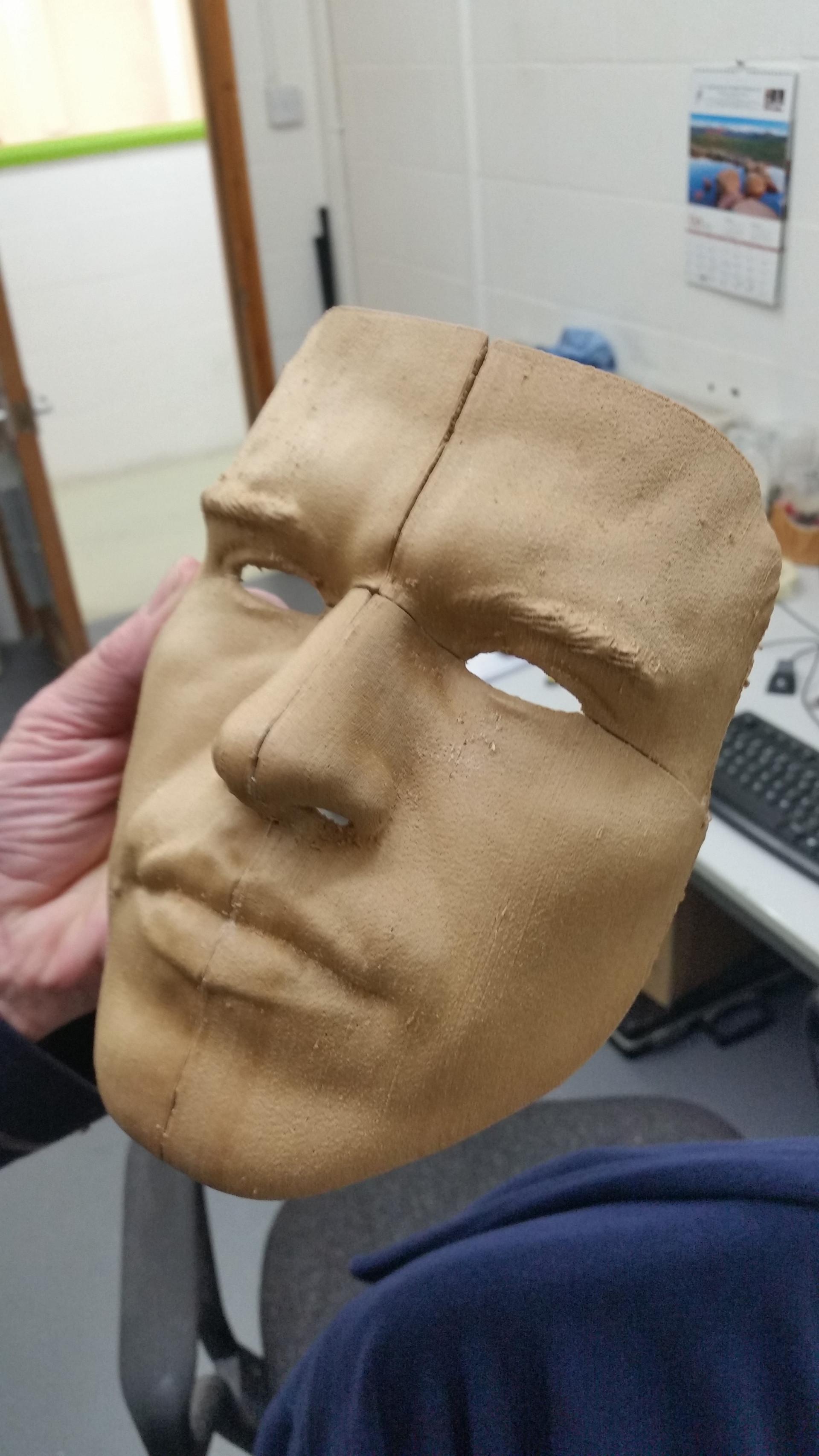 Mark face mask