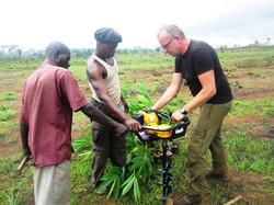 Prepping Irrigation System