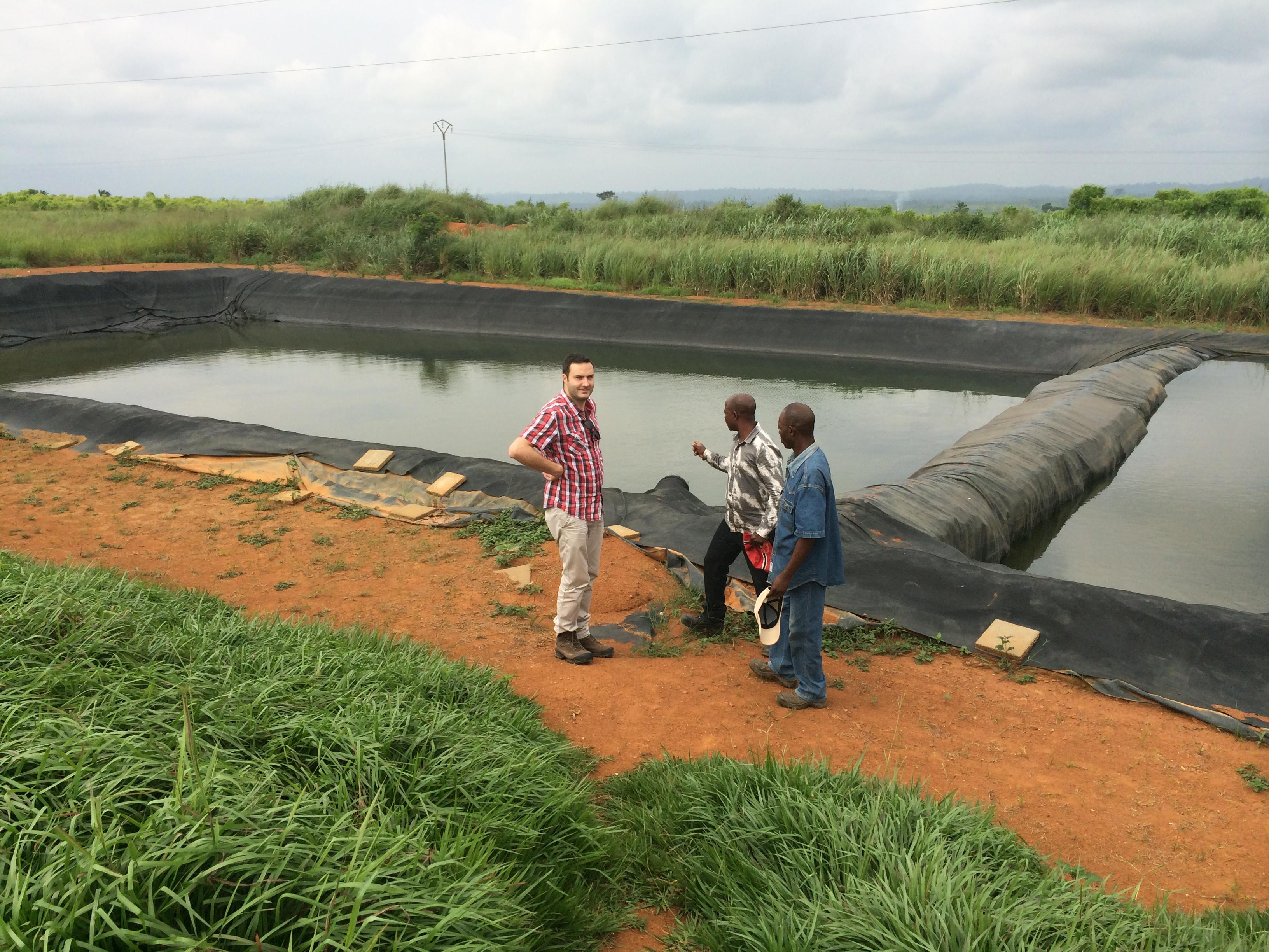 Reservoir for Irrigation