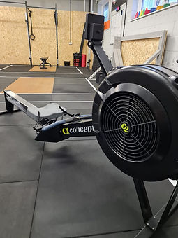 Concept2 rower