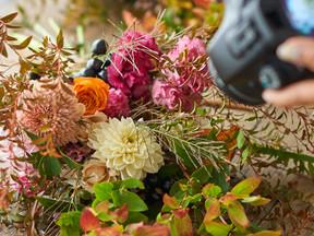 9月 秋の花で、Sense Up ブーケレッスン