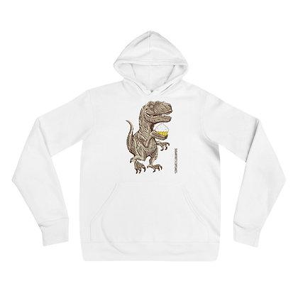 Dinosaurs Love Cupcakes Hoodie