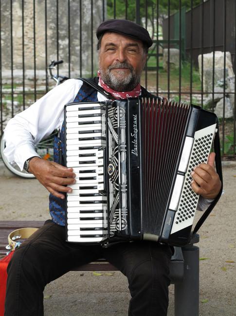 The Player from Castele Fidardo
