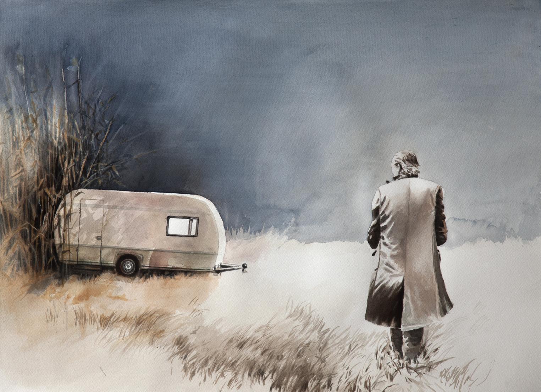Daniel+Wildenstein+-+Akvarell