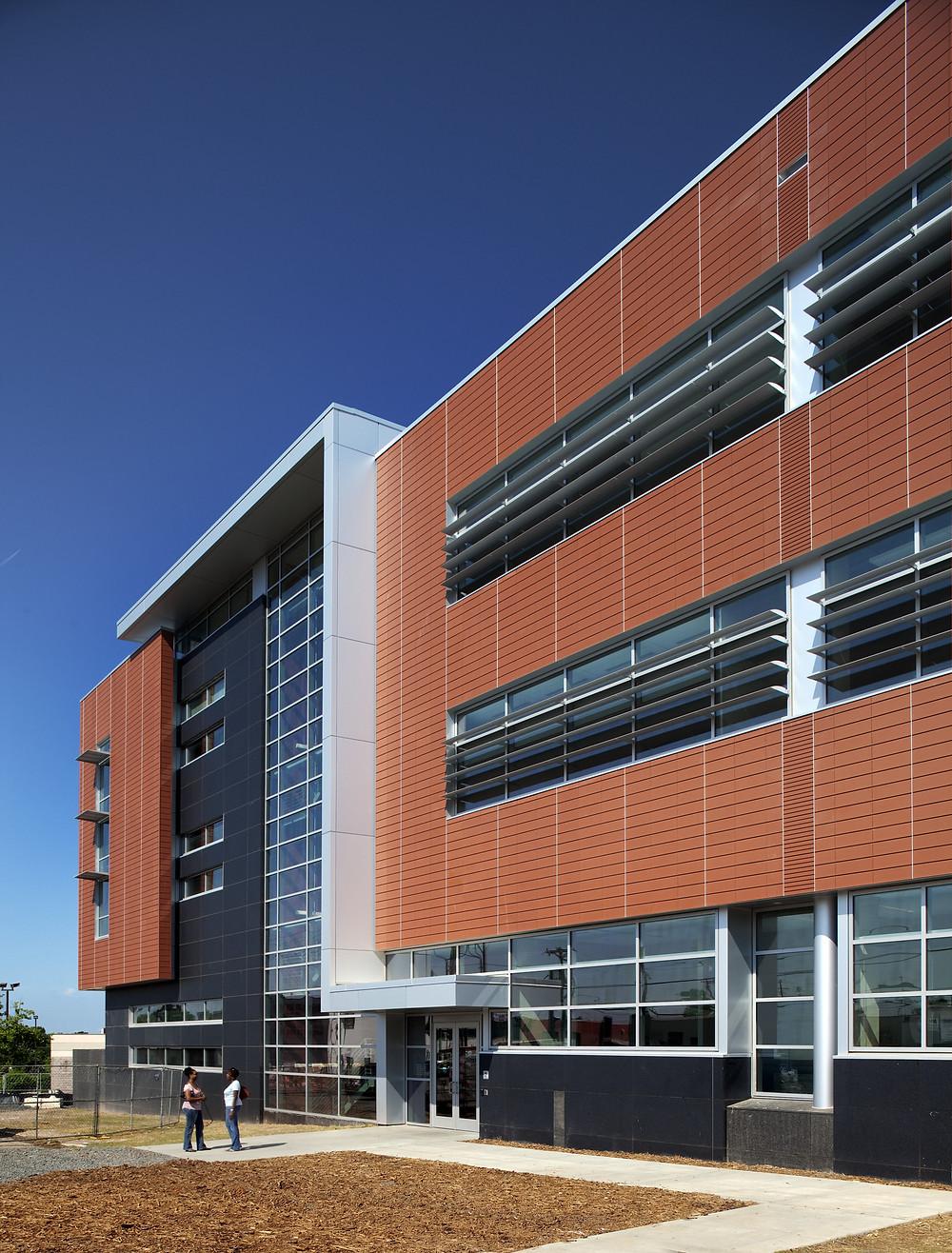 Terracotta Rainscreen Facade System Case Study in Durham, NC