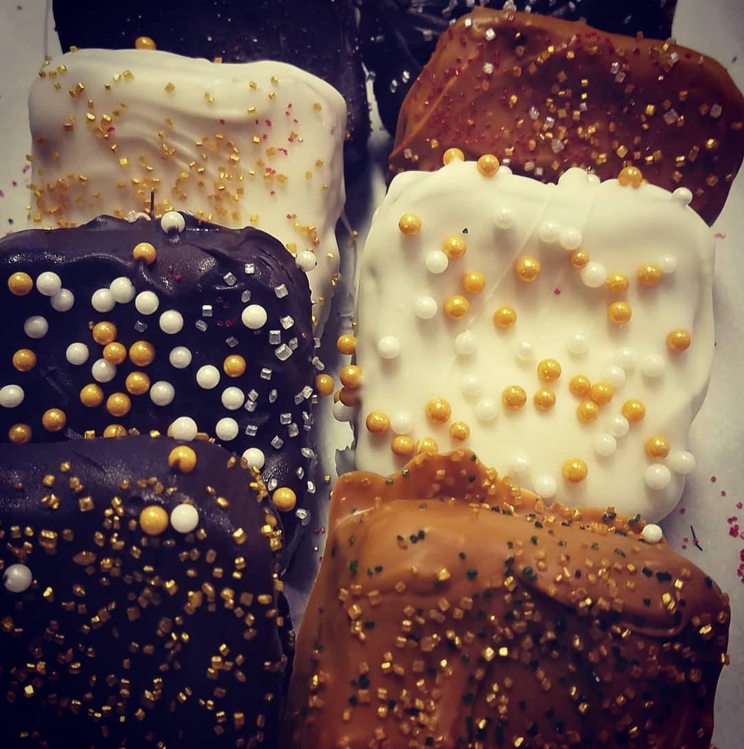 white chocolate blondie brownie squares2