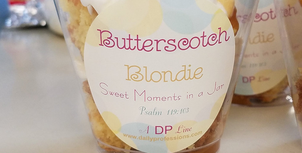 Butterscotch Blondie