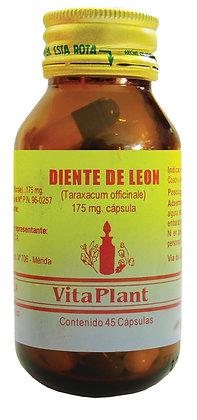 Diente de León (Taraxacum officinale) cápsulas