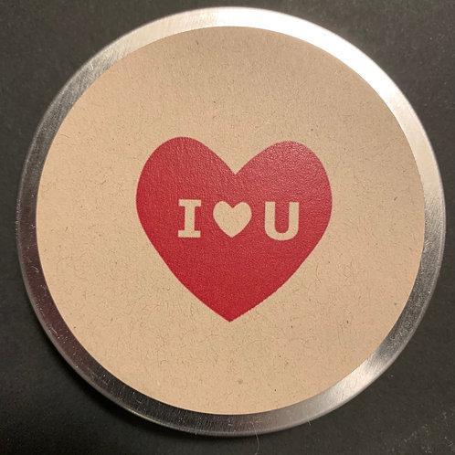 I heart U (in heart)