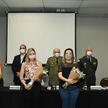 CNCG presta homenagem aos policiais e bombeiros militares que morreram em decorrência da Covid-19