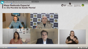 CNCG debate saúde mental de agentes de segurança pública em mesa-redonda na internet