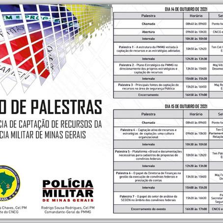 CNCG e PMMG debatem captação de recursos para as Forças Militares de Segurança Pública