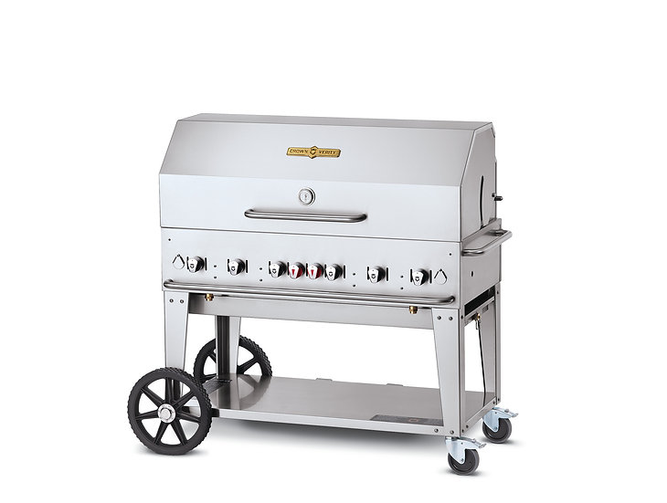 48″ Mobile Grill – Roll Dome Package