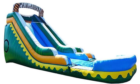 Zoo Slide - Bouncy Castle