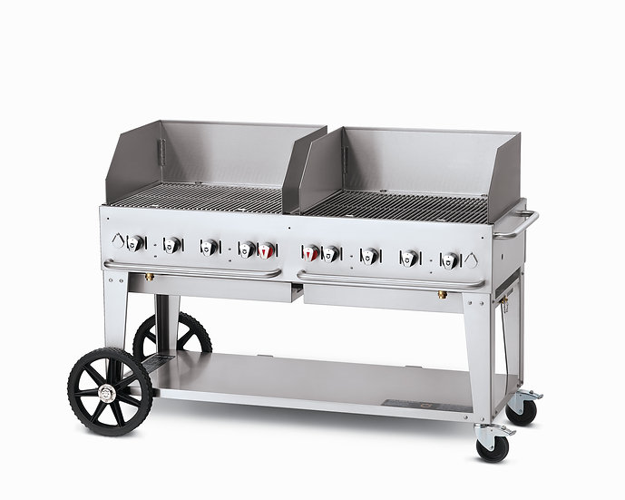 60″ Mobile Grill – Wind Guard Package - Rental