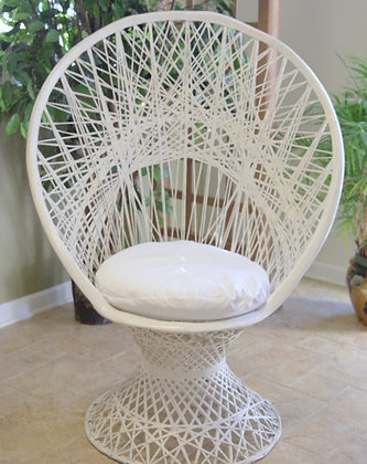 Wicker Wedding Chair