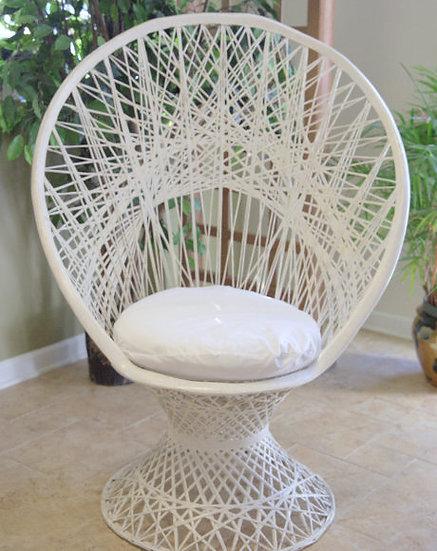 Wicker Wedding Chair
