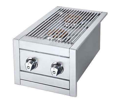 Stainless Double Side Burner