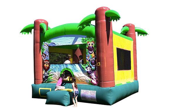Safari Bounce House - Bouncy Castle