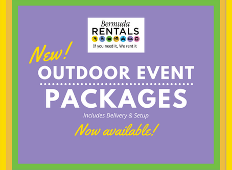 New!  Outdoor Event Packages