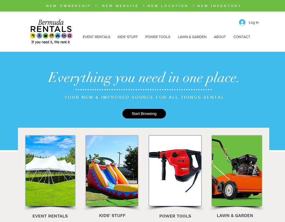 Introducing the Bermuda Rentals Ltd brand new website