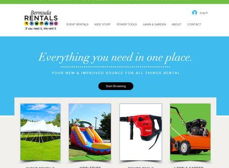 Introducing the brand new Bermuda Rentals Ltd website!