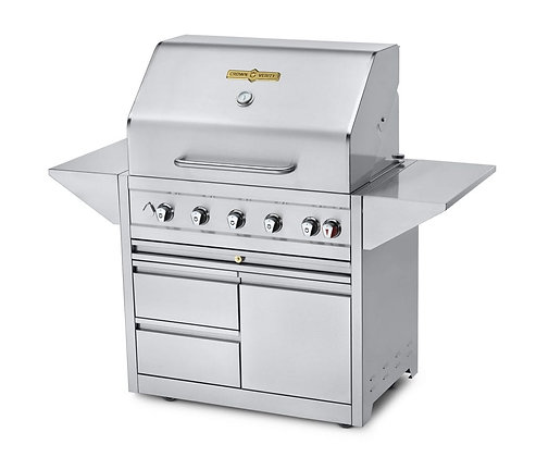 36″ Estate Series Elite Mobile Grill