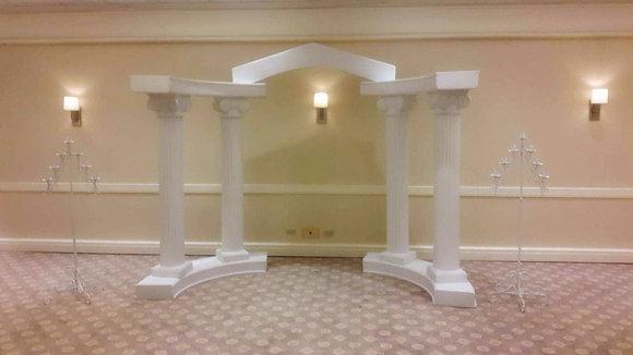 Greek Wedding Arch