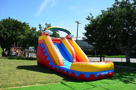 Rainbow Cloud Slide - Water Slide