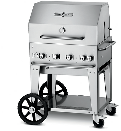 """30"""" Mobile Grill – Roll Dome Package"""