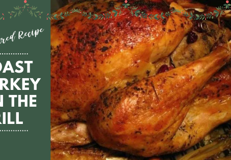 Juicy, Golden Roast Turkey on the Grill for the Holidays