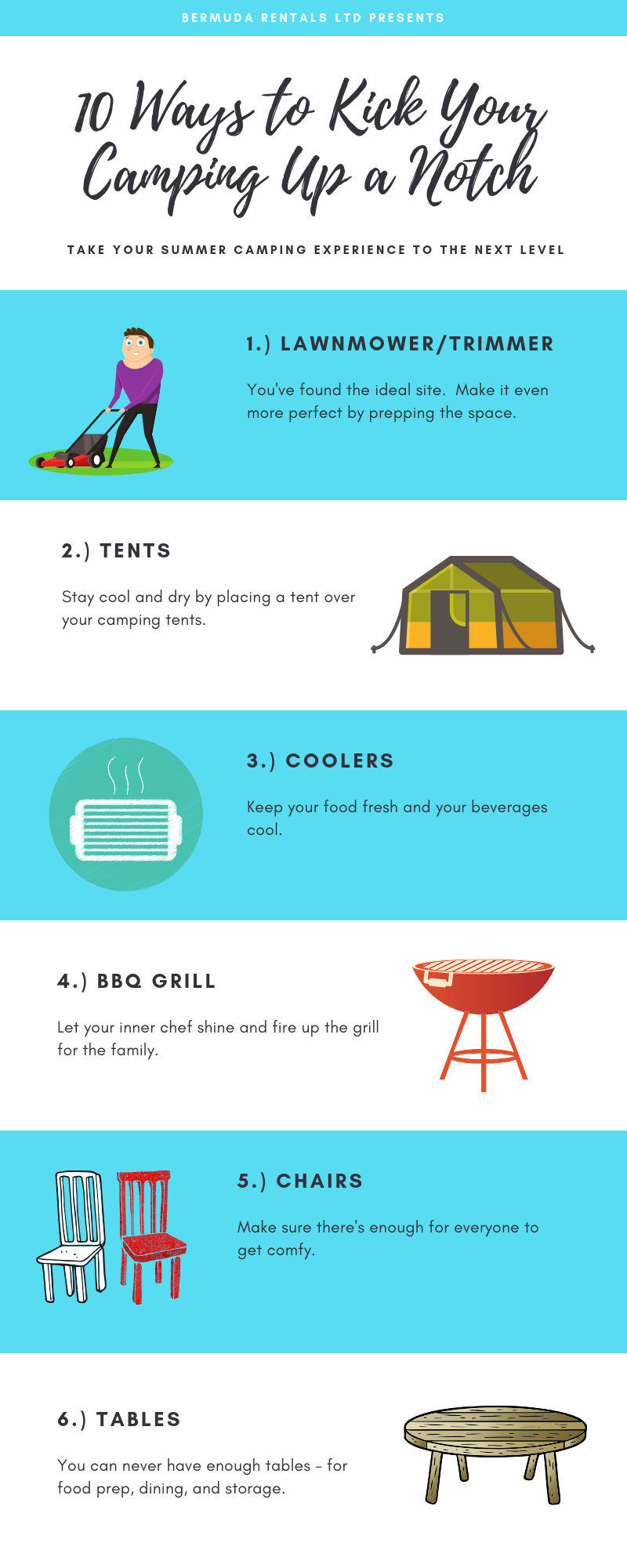10 Ways to Kick Your Camping Up a Notch