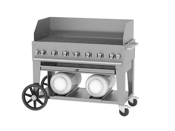 48″ Mobile Grill – Wind Guard Package