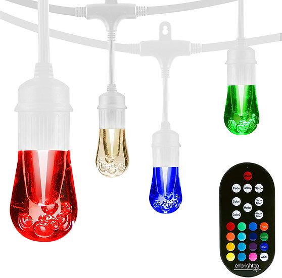 LED Colour Changing Cafe String Lights