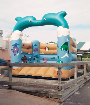 Dolphin Castle - Bouncy Castle