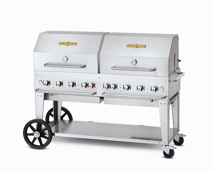 60″ Mobile Grill – Roll Dome Package
