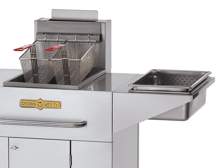 Single Tank Fryer with Dumping Station
